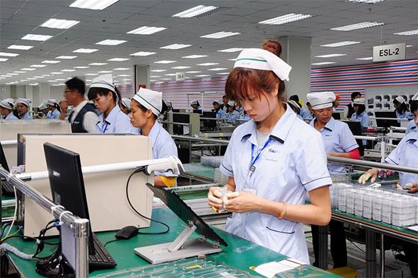 Giặt là công nghiệp ngành điện tử