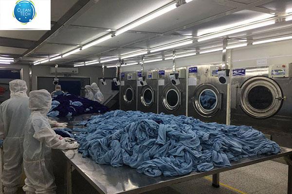 Phòng Giặt Quần áo Chống Tĩnh điện Tại Công Ty Cleantech
