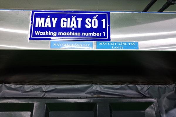 Giặt Găng Tay Cao Su Nitrile